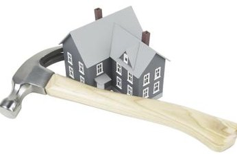Foreclosed homes often need repairs to qualify for mortgage financing.