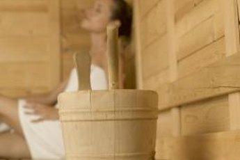 A sauna can be both healthful and harmful.
