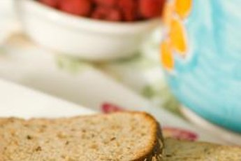 Sprouted grain and whole-wheat breads are made with whole grains.