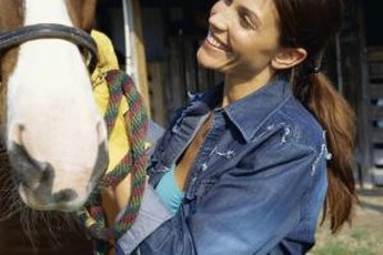 A horse masseuse has the abililty to improve the lives of horses.