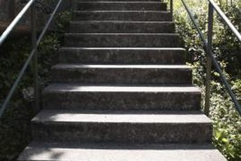 A flight of stairs is a convenient workout tool to help you burn fat.