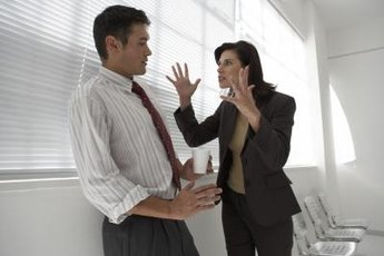 Management and employees should resolve conflict professionally and respectfully.