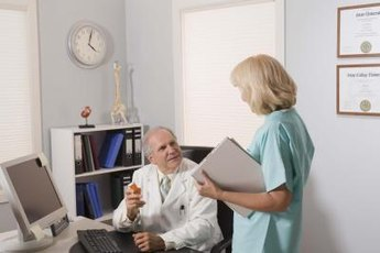 Nurse managers pursue communications with physicians and other medical professionals.