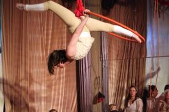 Take to the air with AntiGravity Yoga.