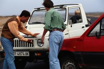 Which insurance policy pays for damage in an accident often depends on who's at fault.