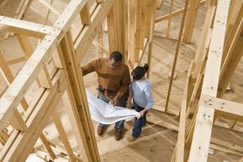 A new home is constructed according to current codes and features that can save money.