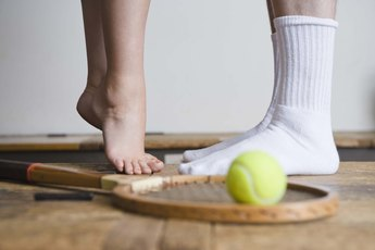 Exercises With Balls for Flat Feet