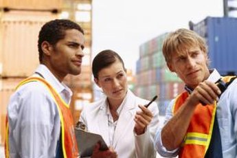 Freight agent brokers handle the mechanics of shipping cargo.