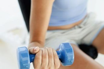 Wrist curls help build muscles throughout your lower arm.