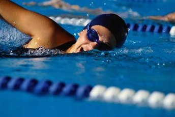 Learning the skill of breathing is key to swimming well.