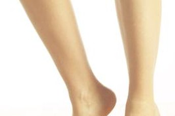 Heel lifts strengthen muscles of the arches of your feet.