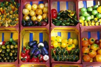 Fruits and vegetables form the foundation of the DASH eating plan.