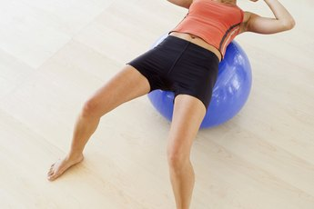 Exercise Ball Oblique Exercises