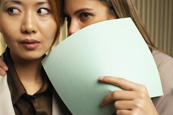 The Effects of Rumors in the Workplace