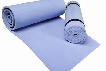 How to Keep a Yoga Mat Sticky