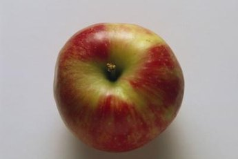 Fuji apples are naturally sweet and crisp.