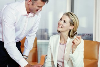 Signs of Sexual Tension Between a Boss & an Employee