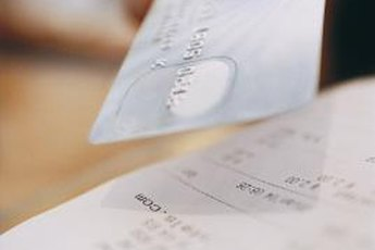 Hold on to your credit card receipts to help you keep track of reward points.