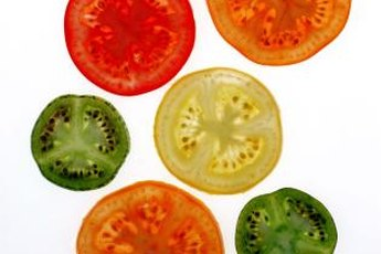 Tomatoes contain blood pressure-lowering substances.