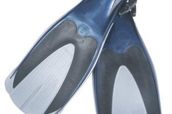 Swim fins can make your legs and heart stronger.