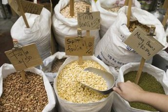 Whole grains and legumes are excellent sources of fiber for the healthy adult diet.