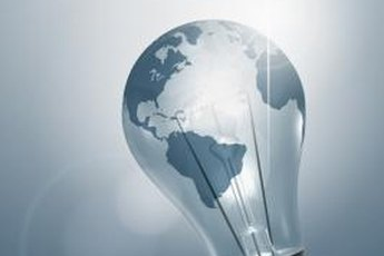 Creative ideas light up the business world.