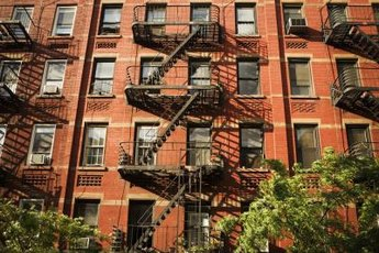 An apartment building can bring in steady rental income.