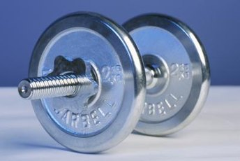 The dumbbell -- your new best weight loss buddy.