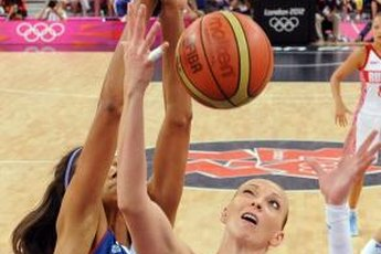 Power forwards often try to block shots in the low post.