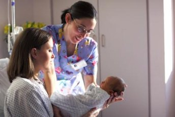 Obstetrical nursing encompasses labor, delivery and aftercare for mom and baby.