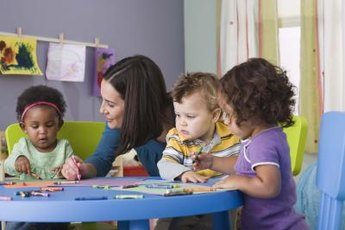 Any areas with lots of kids can provide jobs for preschool teachers.