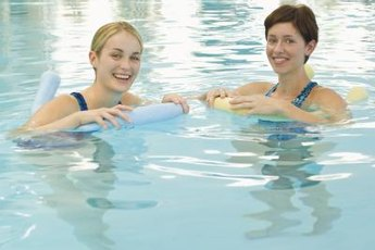 A swimming noodle can help you stay afloat, but don't count on it as a life-saving device.