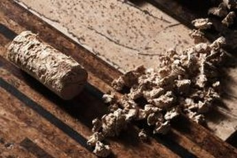 Wine corks can be recycled into durable flooring.