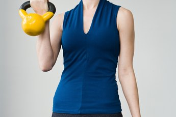 Kettlebells to Tone the Arms