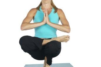 The Toe Stand Balance in Bikram Yoga