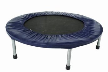 Trampolines provide less impact to your joints than running.