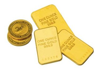 Buying gold in bars and coins from an individual is a private gold purchase.