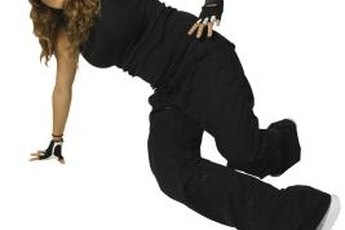 Hip-hop dance workouts greatly strengthen your body's core muscles.