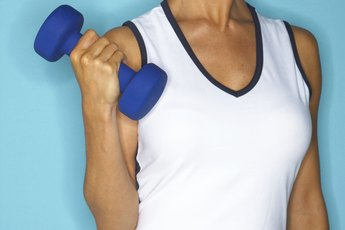 Arm Exercises With Dumbbells for Women