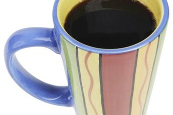 Half-and-half usually adds more calories to coffee than sugar.