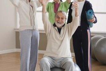 Senior centers often hold exercise classes.