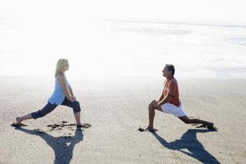 Lunges are one of the easiest and most beneficial exercises for women.