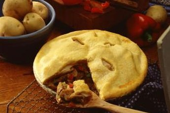 Pies can be high in unhealthy fats.