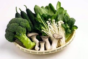 Many vegetables are high in potassium.