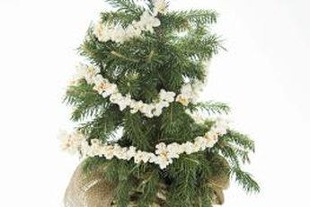 Recreate an old-fashioned Christmas using homemade decorations.