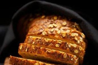 Whole-grain bread is full of insoluble fiber.