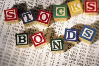 Stocks and bonds are two types of investments with different characteristics.