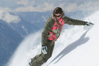 How to Snowboard Down the Fall Line