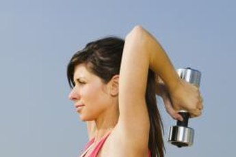 A well-rounded arm workout should include lots of triceps work.