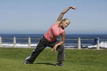 The side lunge engages your adductors.